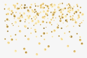 Gold Confetti Png Transparent Gold Confetti Png Image