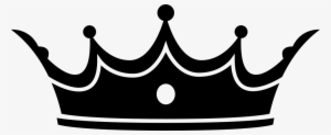 Crown Black And White Png Transparent Crown Black And White Png
