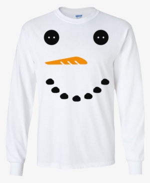 4cd51f82e97 Snowman Face Long Sleeve Ultra Cotton Tshirt - Tshirt Unisex  1189002