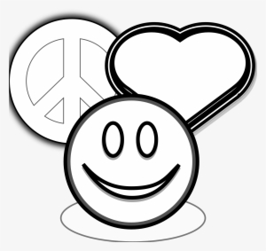 Small peace sign coloring pages ~ Peace Sign Clipart Peace Emoji - Love Soccer Coloring ...