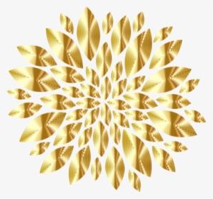 Gold Flower Png Transparent Gold Flower Png Image Free