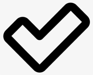 Checkbox Symbol Transparent