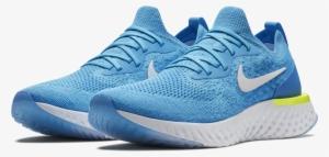 Men s Epic React Flyknit Running Shoe - Nike Epic React Blue  1331451 22865c54f211