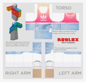 Roblox Shirt Template PNG, Transparent Roblox Shirt Template