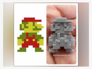 8 Bit Mario Png Transparent 8 Bit Mario Png Image Free Download