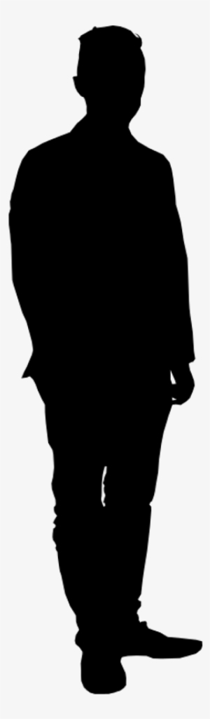 mypuzzledesign business man standing silhouette in - 300×1024