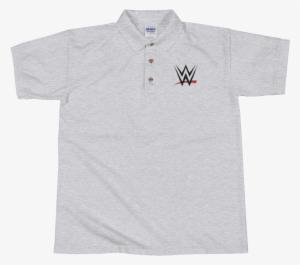 b6661fa47 Wwe Logo Embroidered Polo Shirt - Shirt  174917