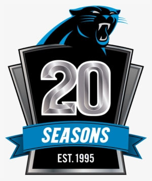 Logo Carolina Panthers 2014 - Carolina Panthers 20th Anniversary Logo   1723234 d513d78ca