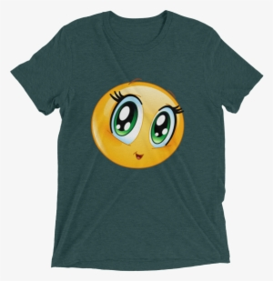 Cute Manga Girl Emoji T Shirt - Gifts For Football Fans - Jj Watt - Texans dc1f3476f