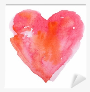 Watercolor Heart PNG, Transparent Watercolor Heart PNG Image