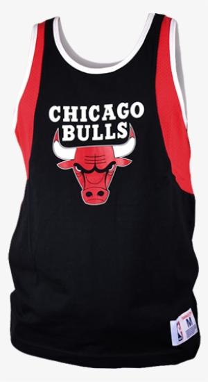 10c7cbddf23 Mitchell   Ness Nba Chicago Bulls Team Matchup Tank - Chicago Bulls Black  Crewneck  1994964