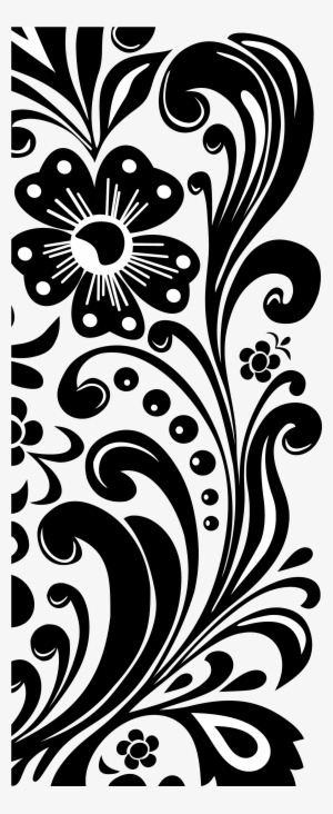 Black And White Flower Png Transparent Black And White Flower Png