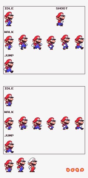 Mario Sprite PNG, Transparent Mario Sprite PNG Image Free