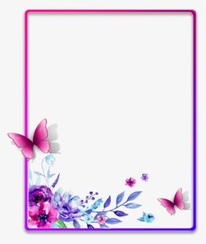 Flower Border Png Transparent Flower Border Png Image Free Download