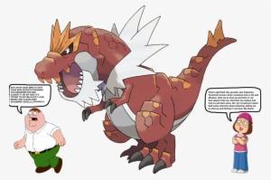 00ac3622 526kib, 1024x682, Meg Griffin S New Pokemon By Darthraner83-d8gbbbv -  Tyrantrum Shiny