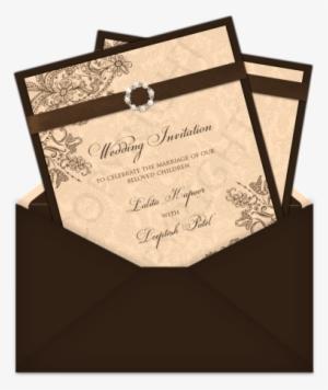 Indian Wedding Card Symbols Png Transparent Indian Wedding Card