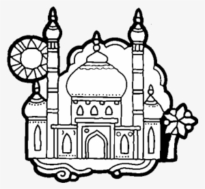 Coloring Page Taj Mahal To Color Online - Ancient India ...