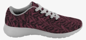 Akai Dark Red Tiger Striped Ergonomic High Performance - Sneakers  2523396 15fc19e96