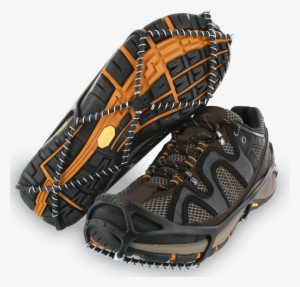Walking Shoe Png Black And White Library - Yaktrax Walker Ice Cleats   2523586 4d7d14905