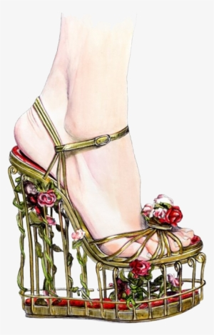 Fashion Sketchbook Drawing Fashion Illustration Illustration - Creative Shoe  Drawings  2536995 251e42655