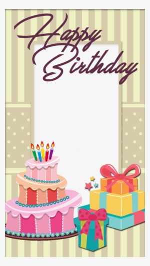 Birthday Frame PNG, Transparent Birthday Frame PNG Image Free