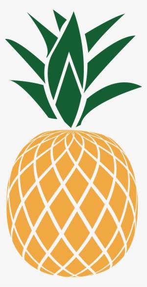 Pineapple-monogram - Golden Pineapple - Free Transparent ...