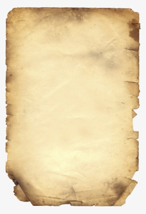 Ripped paper parchment. Png transparent image free