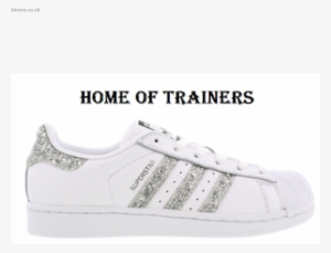 detailed look b2dff 8e941 Reduction Womens Trainers Adidas Superstar Glitter - Adidas Superstar  Glitter Argento  2822132