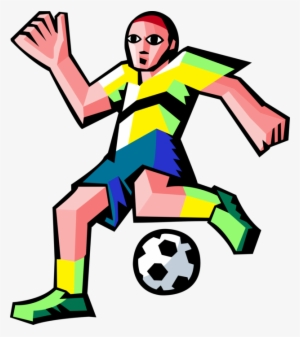 fa1ad43e0 Vector Illustration Of Sport Of Soccer Football Player  2980011