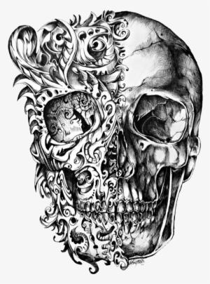 Skull Tattoo Png Transparent Skull Tattoo Png Image Free Download