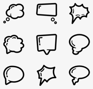 Text Bubble PNG, Transparent Text Bubble PNG Image Free