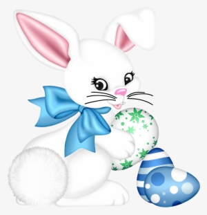 26722ea12c4 Transparent Easter Bunny And Egg Png Clipart Picture - Easter Bunny  300472