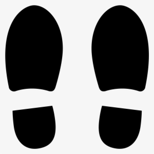e2a2d082b4d This Icon Represents Two Pictures Of The Soles Of Shoes - 足 型 シール  3002793