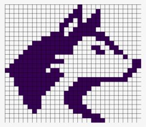 9d8585b97 University Of Washington Huskies Perler Bead Pattern - Cool Animal Pixel  Art  3068789