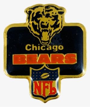 ed4d5c7bb Vintage Chicago Bears Badge Pin