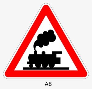 Railroad Crossing Sign Clipart