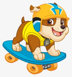 Paw Patrol Rubble Png Graphic Library Paw Patrol