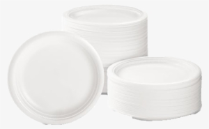 Cups Plates Bowls In Various Sizes Disposable Plastic Plate Png