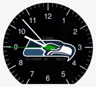 2410e2677 Sports Nfl Seattle Seahawks Black - Seattle Seahawks Logo Black  3811246