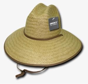 d83a54e7eb5ca Decky Paper Straw Lifeguard Cowboy Hat Hats Beach For - Decky Orgianl Paper  Straw Lifeguard Hat