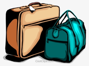 Suitcases Royalty Free Vector Clip Art Illustration - Duffel Bag Free  Clipart  3952646 82d7772adc4b2