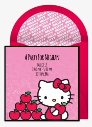 4b93d4b8d6c6 Hello Kitty Bow Online Invitation - Doraemon And Hello Kitty  4031960