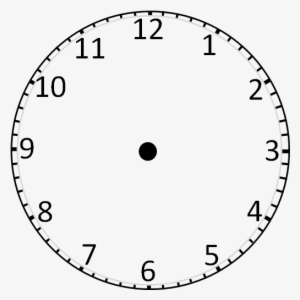 photo regarding Printable Clock Face Without Hands identified as Clock Encounter PNG, Clear Clock Deal with PNG Graphic No cost