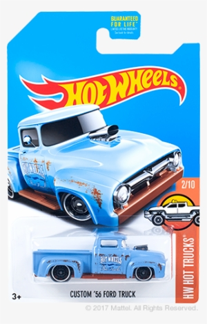 Blue Hot Wheels Quick Sik 4 Hot Wheels 2017 Png Free