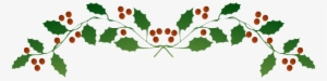 Christmas Top Border Png.Holly Border Png Transparent Holly Border Png Image Free
