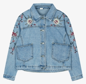 482a75d6a1a Itgirl Shop Roses Cute Embroidery Denim Jacket Aesthetic - Clothing  448721