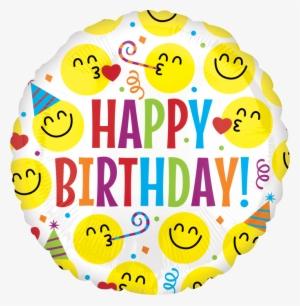 Smiley Transparent Background Happy Emoji Free Png 300x306 Birthday