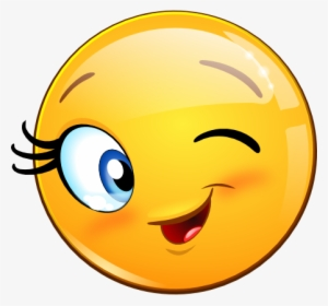 Collection Of Free Blinking Clipart Emoticon - Smiley Clin ...