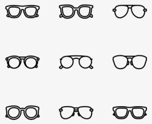252c3e36bf0 Sunglasses - Glasses Icon Vector  53320