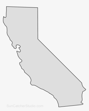 California Map Outline on